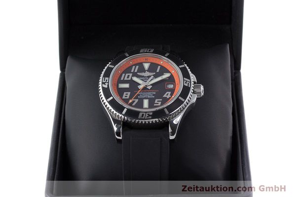 Used luxury watch Breitling Superocean steel automatic Kal. B17 ETA 2824-2 Ref. A17364 LIMITED EDITION | 160639 07