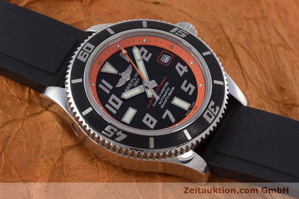 Used luxury watch Breitling Superocean steel automatic Kal. B17 ETA 2824-2 Ref. A17364 LIMITED EDITION | 160639 16