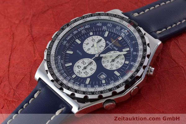 Used luxury watch Breitling Jupiterpilot chronograph steel quartz Kal. B233 Ref. A59028  | 160680 01