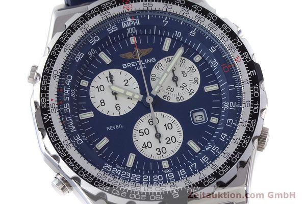 Used luxury watch Breitling Jupiterpilot chronograph steel quartz Kal. B233 Ref. A59028  | 160680 02