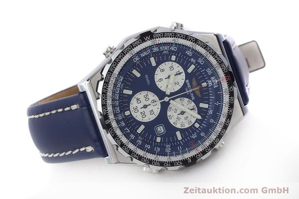 Used luxury watch Breitling Jupiterpilot chronograph steel quartz Kal. B233 Ref. A59028  | 160680 03