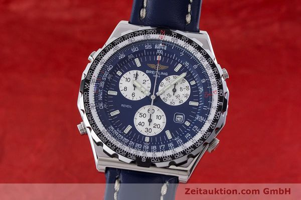 Used luxury watch Breitling Jupiterpilot chronograph steel quartz Kal. B233 Ref. A59028  | 160680 04