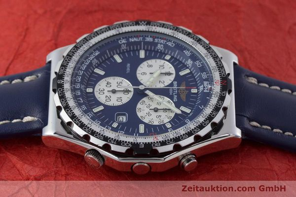 Used luxury watch Breitling Jupiterpilot chronograph steel quartz Kal. B233 Ref. A59028  | 160680 05