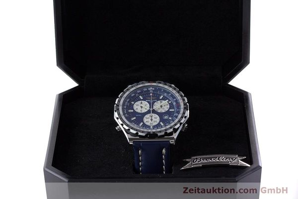 Used luxury watch Breitling Jupiterpilot chronograph steel quartz Kal. B233 Ref. A59028  | 160680 07