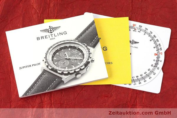 Used luxury watch Breitling Jupiterpilot chronograph steel quartz Kal. B233 Ref. A59028  | 160680 12