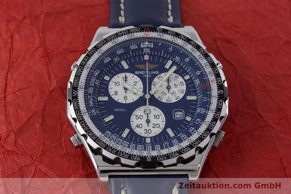 Used luxury watch Breitling Jupiterpilot chronograph steel quartz Kal. B233 Ref. A59028  | 160680 16