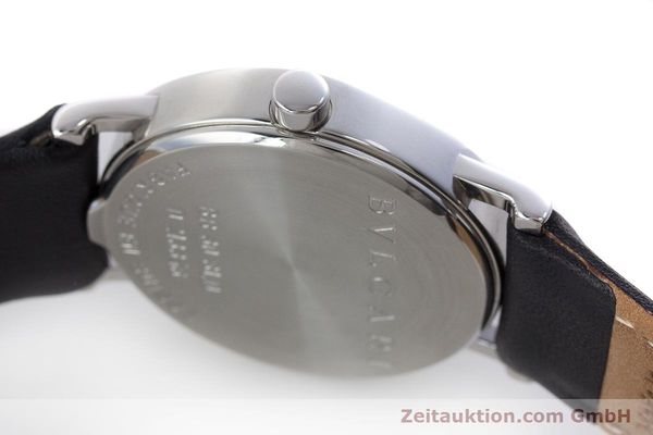 Used luxury watch Bvlgari Bvlgari steel quartz Kal. MVE002-MBBL Ref. BB30SLD  | 160705 08