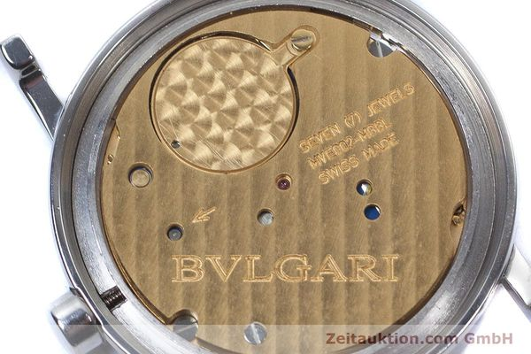 Used luxury watch Bvlgari Bvlgari steel quartz Kal. MVE002-MBBL Ref. BB30SLD  | 160705 10