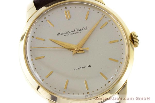 Used luxury watch IWC Portofino 18 ct gold automatic Kal. 852 VINTAGE  | 160723 02