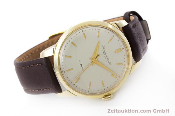Used luxury watch IWC Portofino 18 ct gold automatic Kal. 852 VINTAGE  | 160723 03