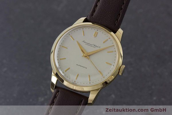 Used luxury watch IWC Portofino 18 ct gold automatic Kal. 852 VINTAGE  | 160723 04