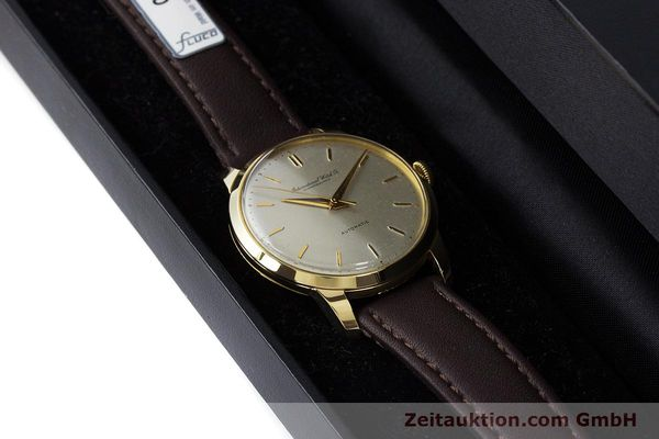 Used luxury watch IWC Portofino 18 ct gold automatic Kal. 852 VINTAGE  | 160723 07