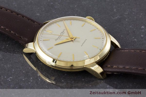 Used luxury watch IWC Portofino 18 ct gold automatic Kal. 852 VINTAGE  | 160723 13
