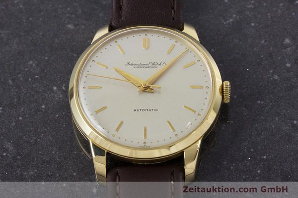 Used luxury watch IWC Portofino 18 ct gold automatic Kal. 852 VINTAGE  | 160723 14