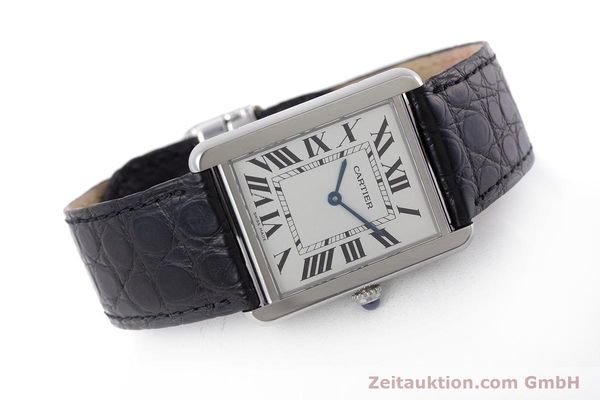 Used luxury watch Cartier Tank steel quartz Kal. 690 Ref. 2715  | 160758 03