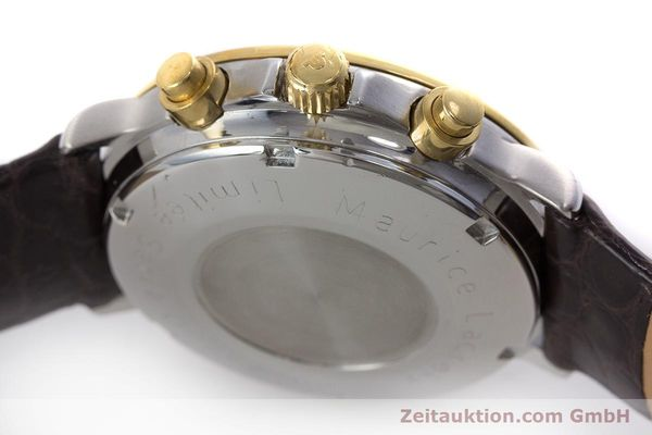 Used luxury watch Maurice Lacroix Phase de Lune  chronograph steel / gold automatic Kal. Valj. 7750 LIMITED EDITION | 160786 08