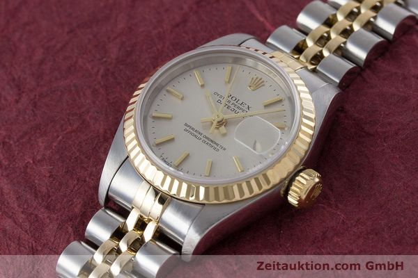 Used luxury watch Rolex Lady Datejust steel / gold automatic Kal. 2235 Ref. 79173  | 160789 01