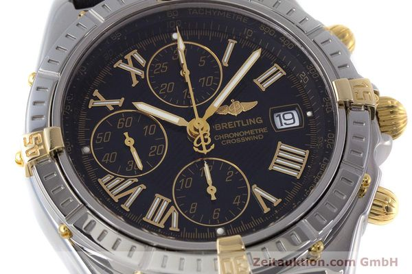 Used luxury watch Breitling Crosswind chronograph steel / gold automatic Kal. B13 ETA 7750 Ref. B13355  | 160808 02