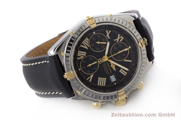 Used luxury watch Breitling Crosswind chronograph steel / gold automatic Kal. B13 ETA 7750 Ref. B13355  | 160808 03