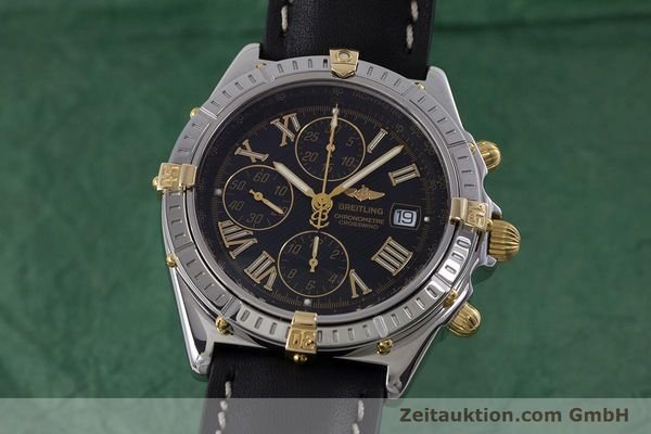 Used luxury watch Breitling Crosswind chronograph steel / gold automatic Kal. B13 ETA 7750 Ref. B13355  | 160808 04