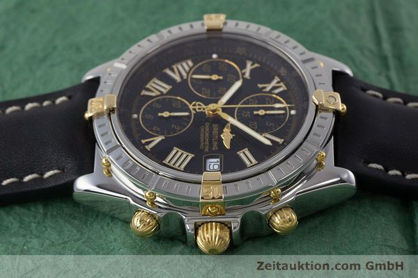 Used luxury watch Breitling Crosswind chronograph steel / gold automatic Kal. B13 ETA 7750 Ref. B13355  | 160808 05