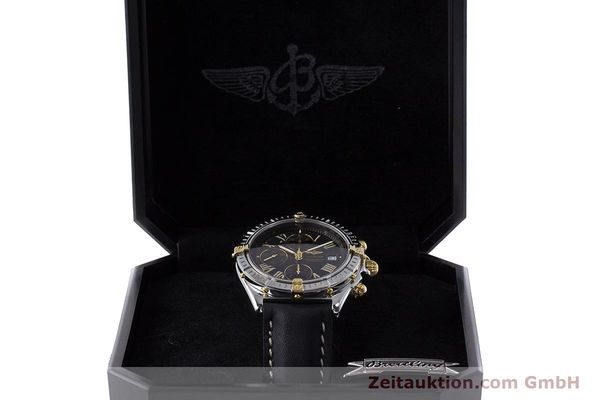 Used luxury watch Breitling Crosswind chronograph steel / gold automatic Kal. B13 ETA 7750 Ref. B13355  | 160808 07