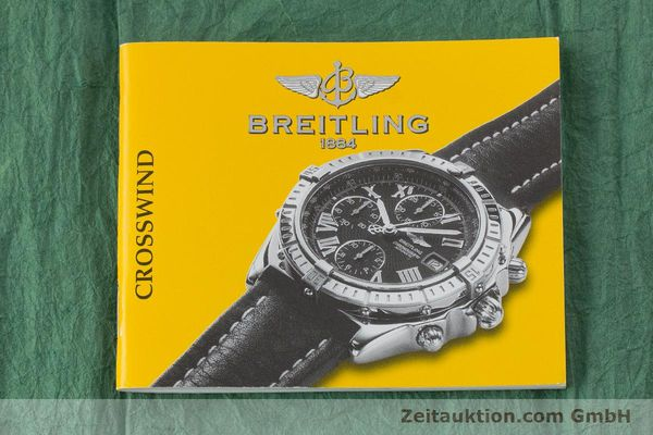 Used luxury watch Breitling Crosswind chronograph steel / gold automatic Kal. B13 ETA 7750 Ref. B13355  | 160808 13