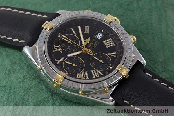 Used luxury watch Breitling Crosswind chronograph steel / gold automatic Kal. B13 ETA 7750 Ref. B13355  | 160808 15