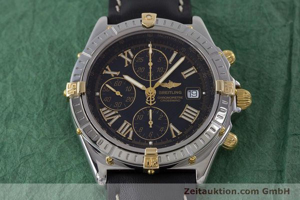 Used luxury watch Breitling Crosswind chronograph steel / gold automatic Kal. B13 ETA 7750 Ref. B13355  | 160808 16
