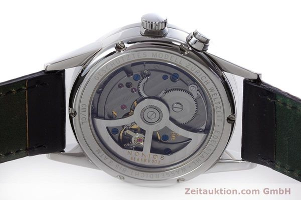 Used luxury watch Nomos Zürich Weltzeituhr steel automatic Kal. XI LIMITED EDITION | 160831 09