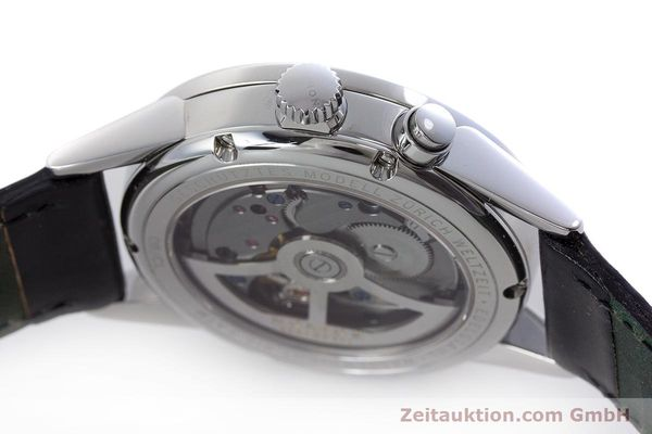 Used luxury watch Nomos Zürich Weltzeituhr steel automatic Kal. XI LIMITED EDITION | 160831 11