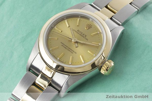 927243b4ed5 gebrauchte Luxusuhr Rolex Oyster Perpetual Stahl   Gold Automatik Kal. 2130  Ref.