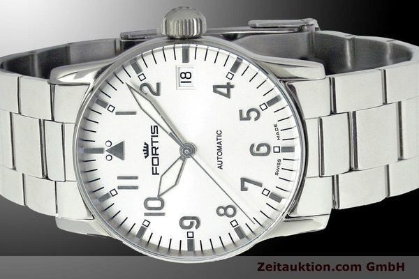 Used luxury watch Fortis Flieger steel automatic Kal. ETA 2892 Ref. 621.10.12 M  | 900003 01