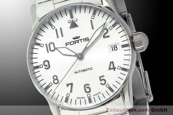 Used luxury watch Fortis Flieger steel automatic Kal. ETA 2892 Ref. 621.10.12 M  | 900003 03