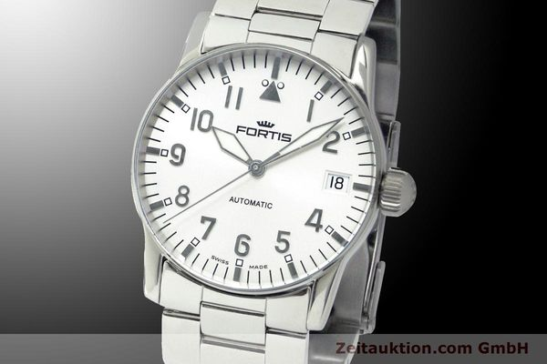 Used luxury watch Fortis Flieger steel automatic Kal. ETA 2892 Ref. 621.10.12 M  | 900003 04