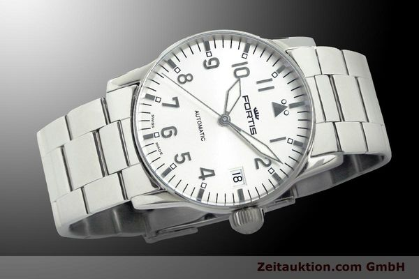 Used luxury watch Fortis Flieger steel automatic Kal. ETA 2892 Ref. 621.10.12 M  | 900003 05