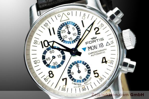 Used luxury watch Fortis Flieger Chronograph chronograph steel automatic Ref. 597.20.92 L 01 LIMITED EDITION | 900012 03