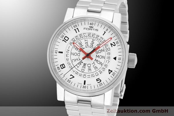 montre de luxe d occasion Fortis Spacematic acier automatique Ref. 623.10.52M  | 900018 04