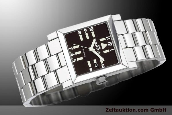 Used luxury watch Fortis Square  steel automatic Kal. ETA 2671 Ref. 629.20.71M  | 900021 05