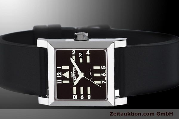 Used luxury watch Fortis Square  steel automatic Kal. ETA 2671 Ref. 629.20.71Si01  | 900022 01