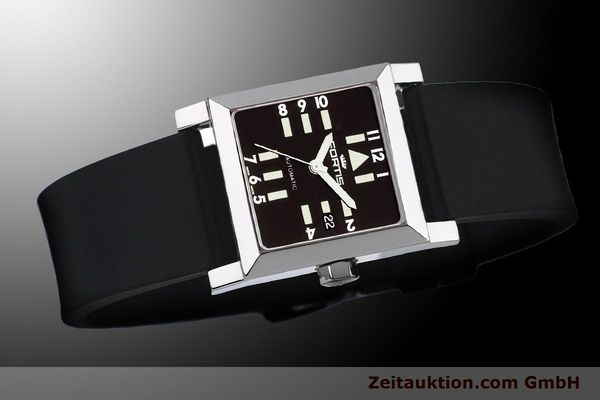 Used luxury watch Fortis Square  steel automatic Kal. ETA 2671 Ref. 629.20.71Si01  | 900022 05