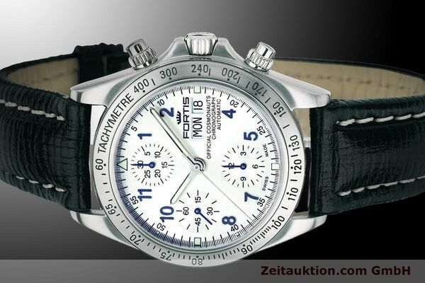 Used luxury watch Fortis Cosmonauts Chronograph chronograph steel automatic Ref. 630.10.92L01  | 900024 01