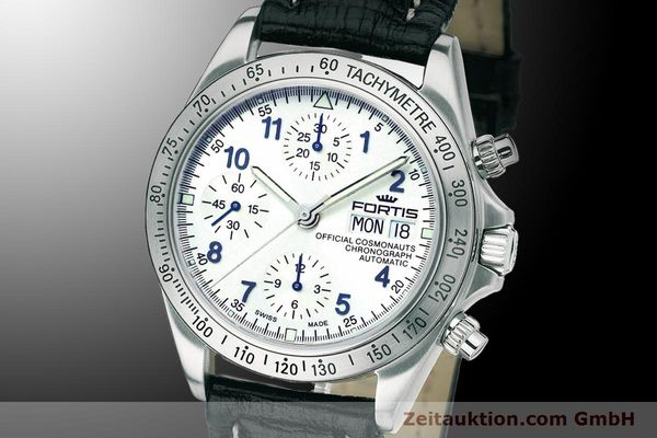 Used luxury watch Fortis Cosmonauts Chronograph chronograph steel automatic Ref. 630.10.92L01  | 900024 04