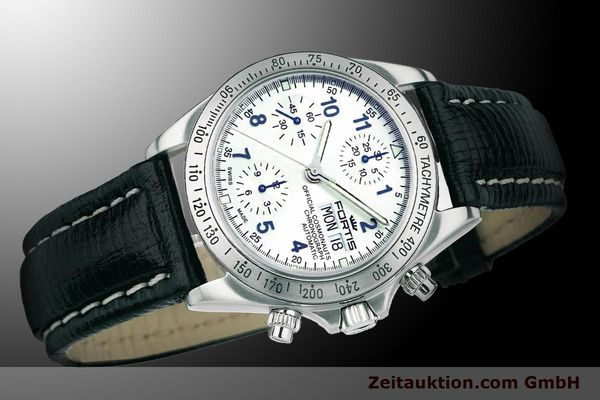 Used luxury watch Fortis Cosmonauts Chronograph chronograph steel automatic Ref. 630.10.92L01  | 900024 05