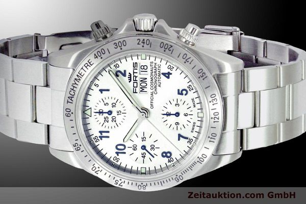 Used luxury watch Fortis Cosmonauts Chronograph chronograph steel automatic Ref. 630.10.92M  | 900025 01