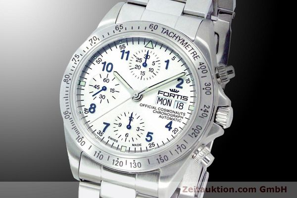 Used luxury watch Fortis Cosmonauts Chronograph chronograph steel automatic Ref. 630.10.92M    900025 04