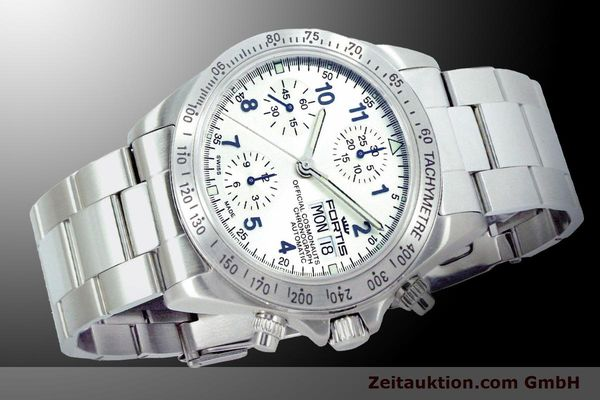Used luxury watch Fortis Cosmonauts Chronograph chronograph steel automatic Ref. 630.10.92M    900025 05