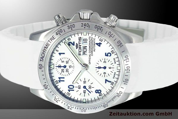 Used luxury watch Fortis Cosmonauts Chronograph chronograph steel automatic Ref. 630.10.92SI02  | 900026 01