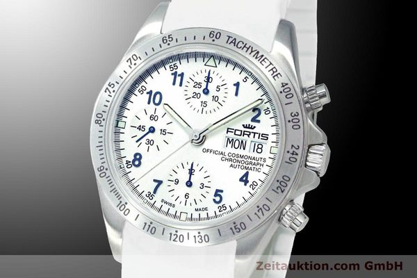 Used luxury watch Fortis Cosmonauts Chronograph chronograph steel automatic Ref. 630.10.92SI02  | 900026 04
